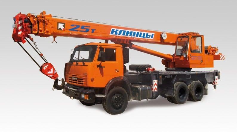 Автокран КС-55713-1К-3 «Клинцы»