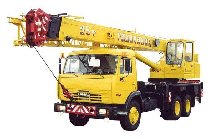 Автокран КС-55713-1