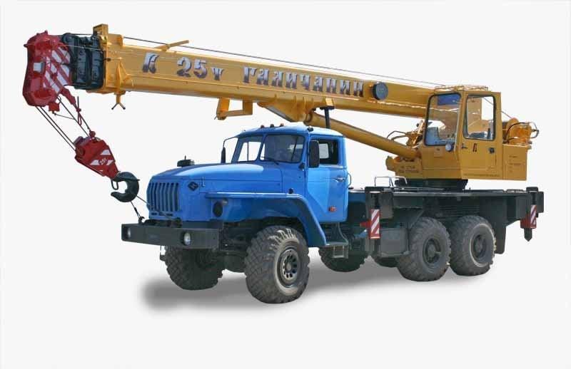 Автокран КС 55713-3В Галичанин