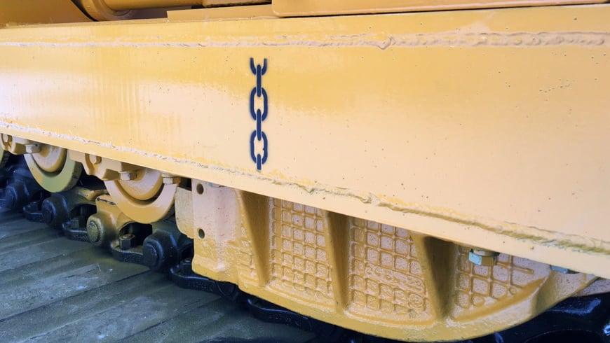 Бульдозер-болотоход  Б10МБ.0121-2В4