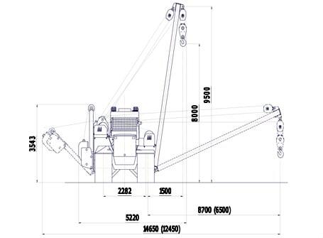 Трубоукладчик ТБГ 20