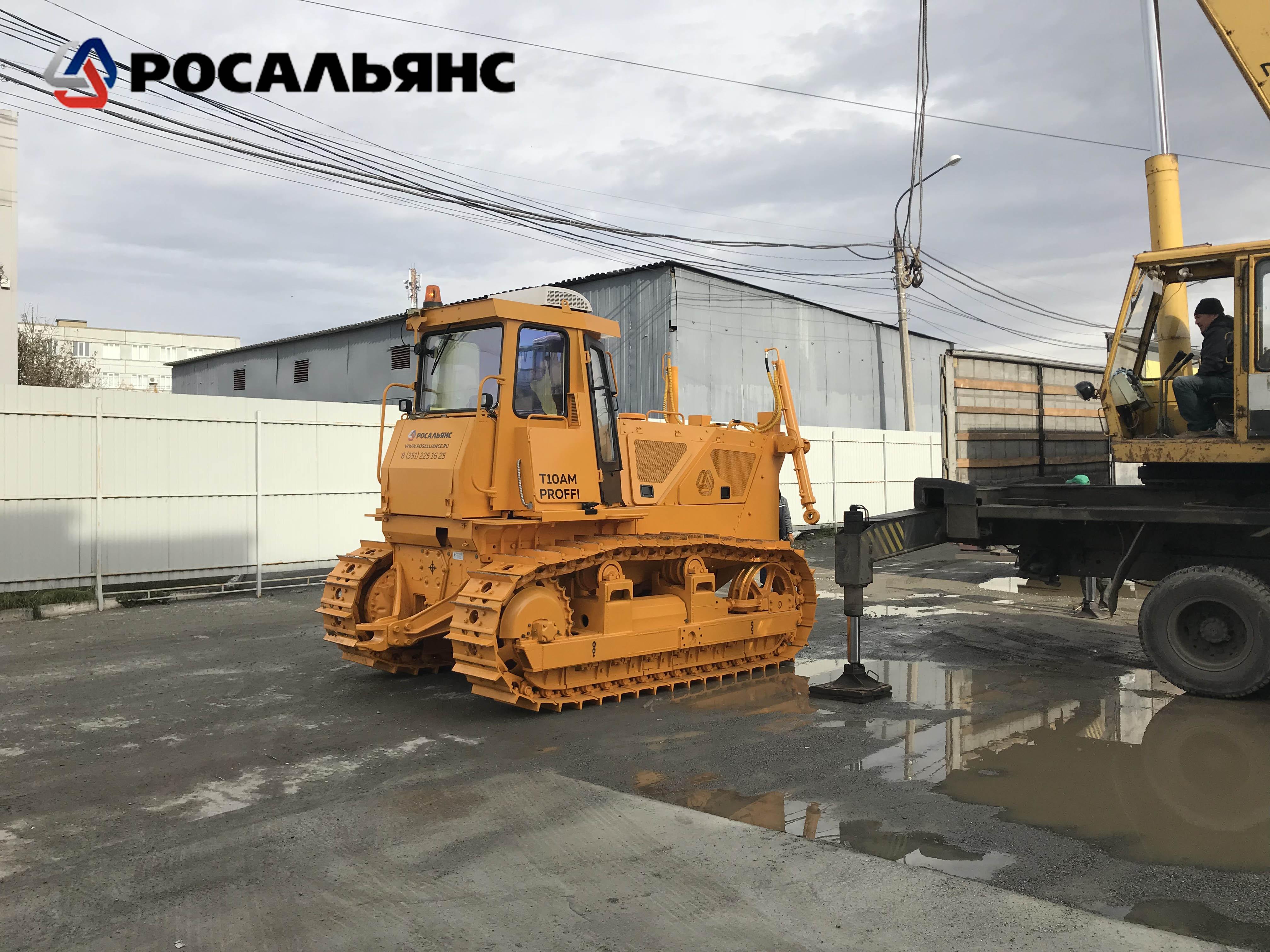 Бульдозер Б10